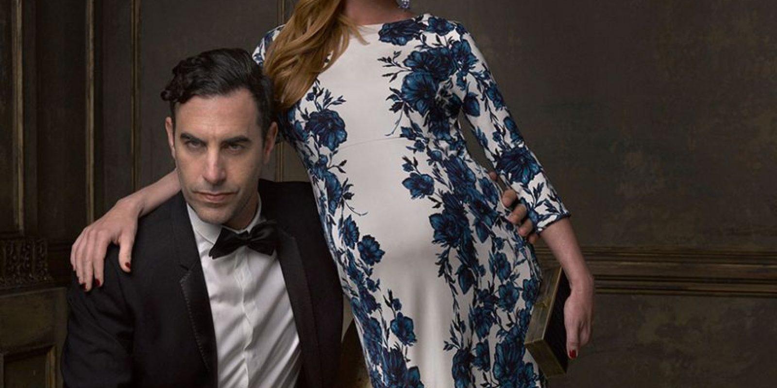 Sacha Baron Cohen y Isla Fisher Foto:Agencias