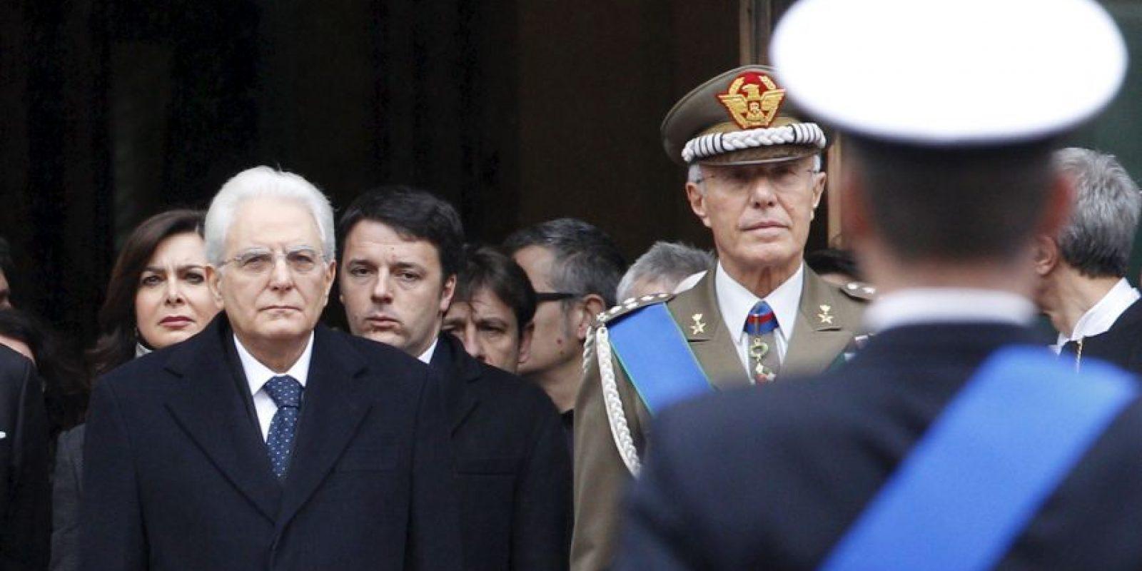 El 3 de febrero de 2015 se convirtió en Presidente de Italia. Foto:Getty Images