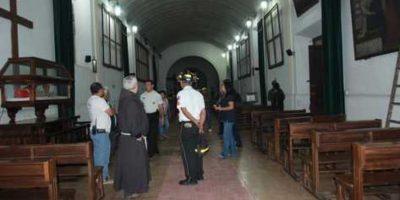 """Policía captura a dos por el """"robo del siglo"""" ocurrido en la Antigua Guatemala"""