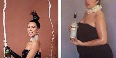 Kim 1 y Kim 2. Igualitas. Foto:Nacadas de la Vida Real