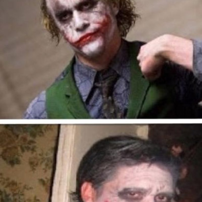 No, no eres el Joker. Foto:Nacadas de la Vida Real