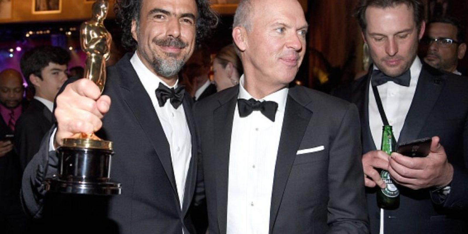 Alejandro González Iñárritu dio alegría a México por su victoria en los Oscar Foto:Getty Images
