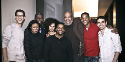 "Junto al elenco de ""The Fresh Prince of Bel-Air"" Foto:Facebook/Will Smith"