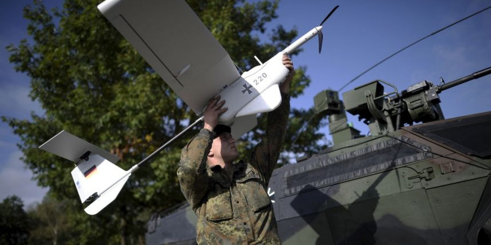 La República de Macedonia prohibió la utilización de drones a 500 metros de edificios gubernamentales, lugares públicos y durante manifestaciones, destacó el portal Global Voices. Foto:Getty