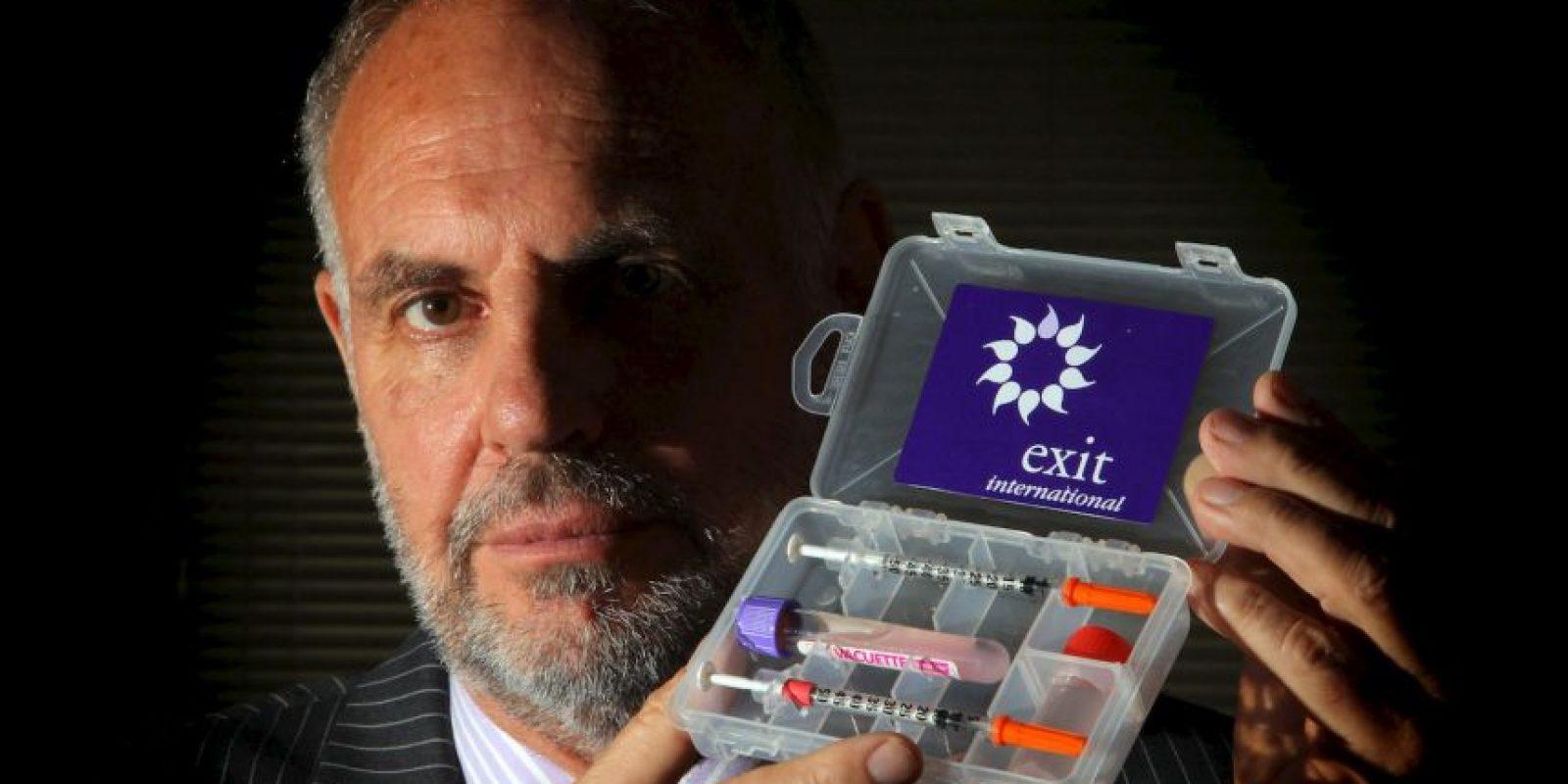 Doctor Philip Nitschke, llamado Dr. Muerte, es uno de los principales promotores de la eutanasia. Foto:Getty