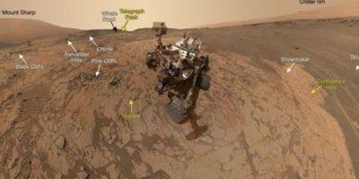¡Selfies espaciales! Curiosity muestra su vida en Marte