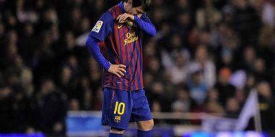 7. En la Liga contra el Valencia, 01-02-2012. Foto:Publinews