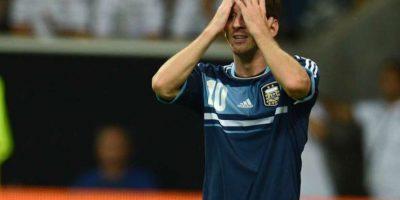 9. Con Argentina en un amistoso contra Alemania, 15-08-2012. Foto:Publinews