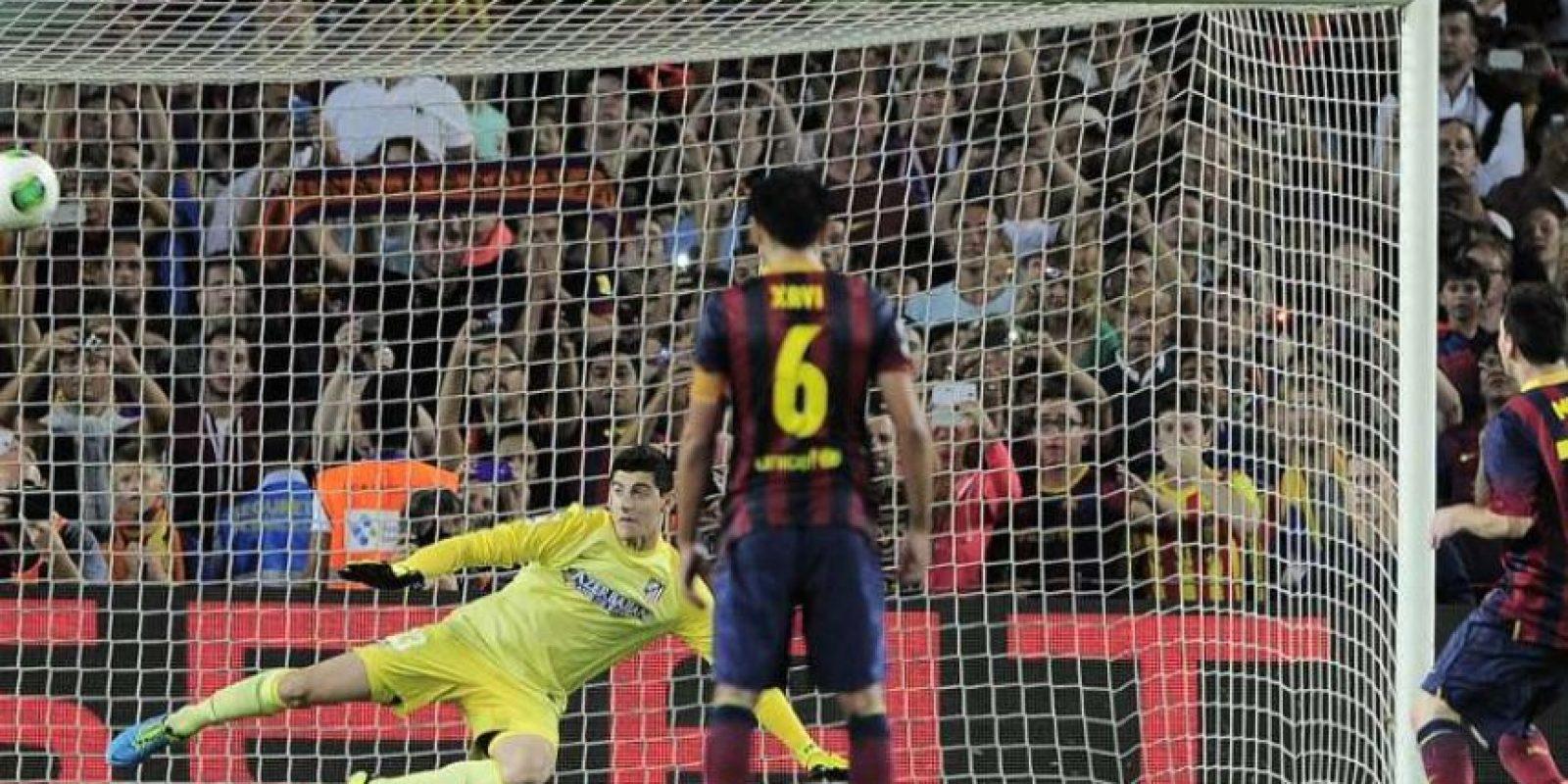 10. En la Supercopa española contra el Atlético, 28-08-2013. Foto:Publinews