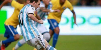 13. Con Argentina en un amistoso contra Brasil, 11-10-2014. Foto:Publinews