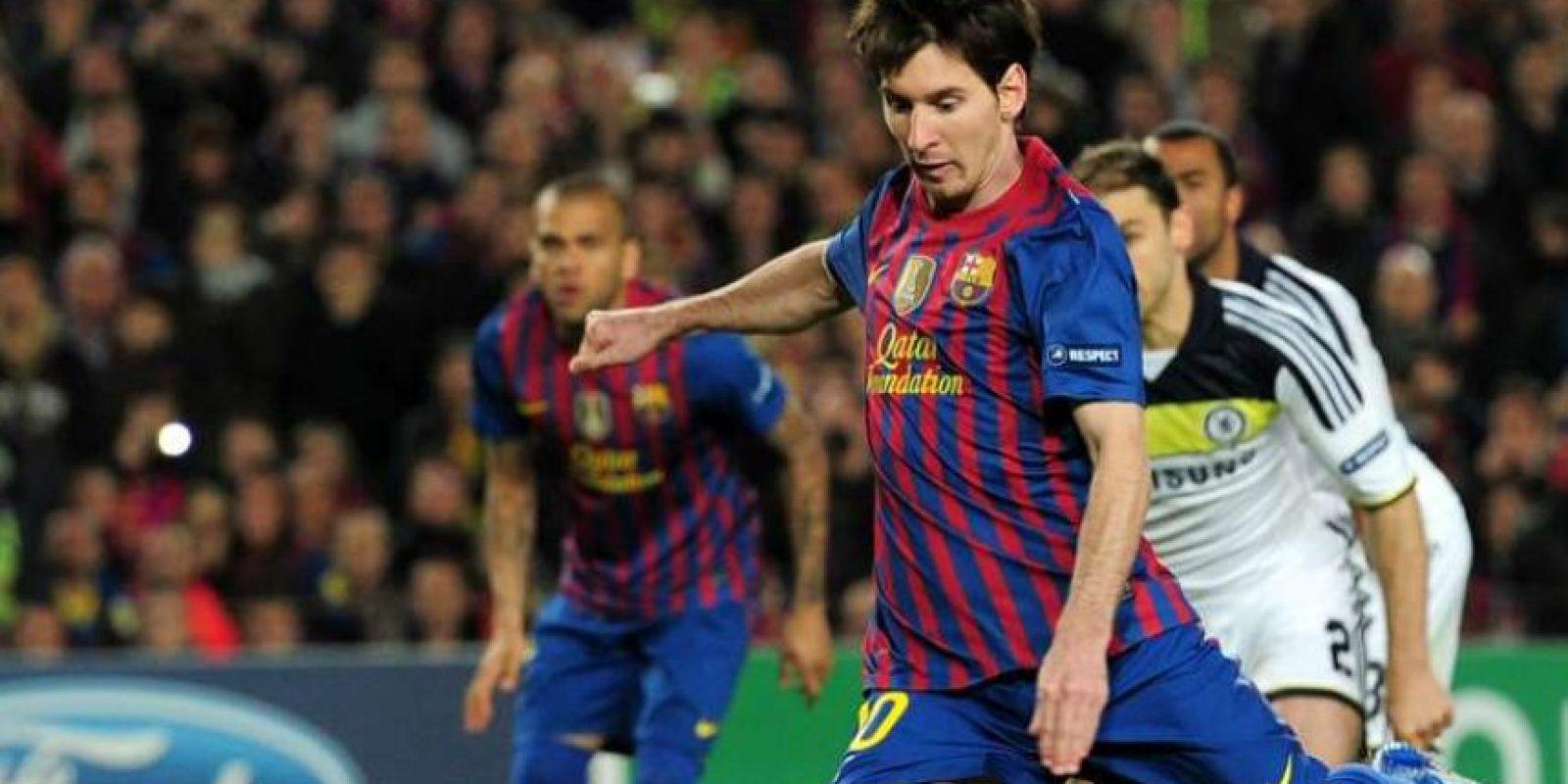 8. En la Liga de Campeones contra el Chelsea, 25-04-2012. Foto:Publinews