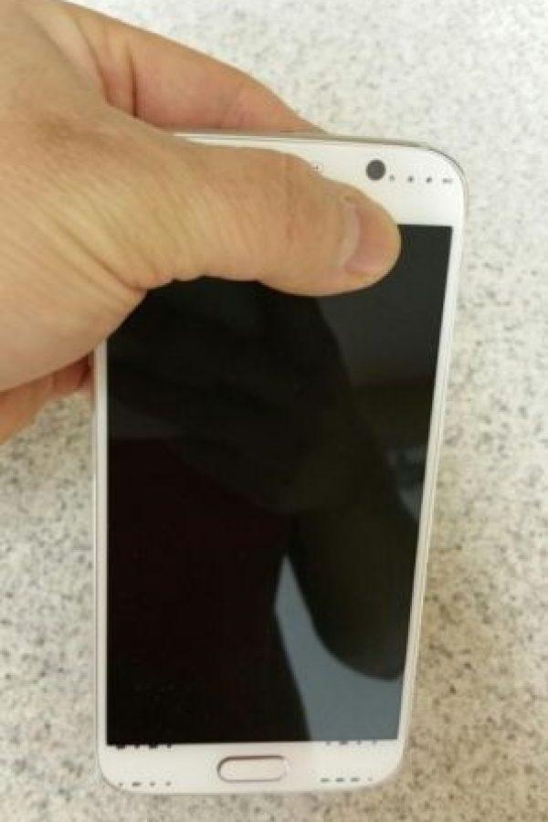 La pantalla del nuevo Samsung Galaxy S6. Foto:SamMobile