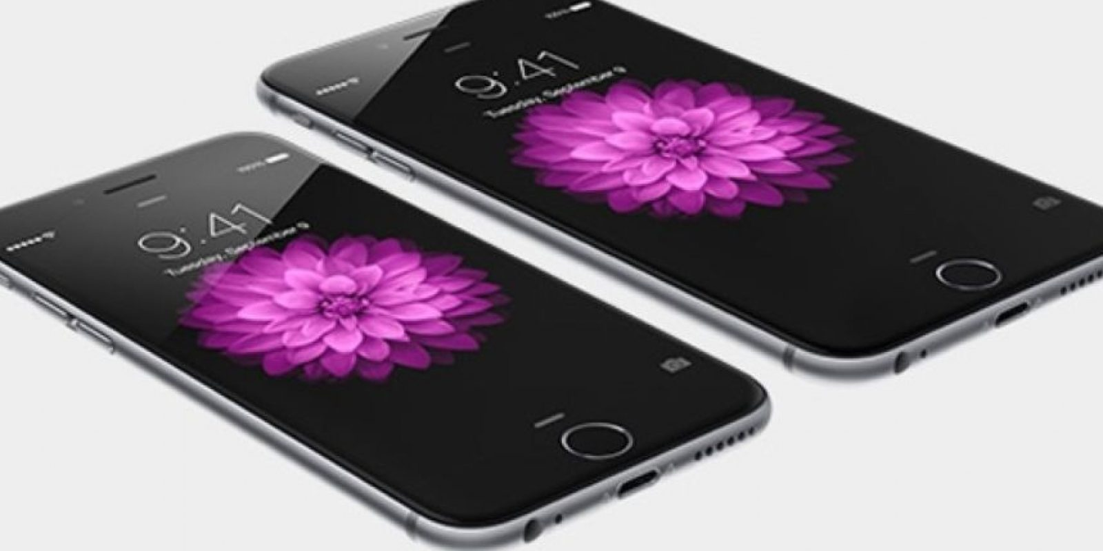 La pantalla del iPhone 6 y iPhone 6 Plus. Foto: Apple