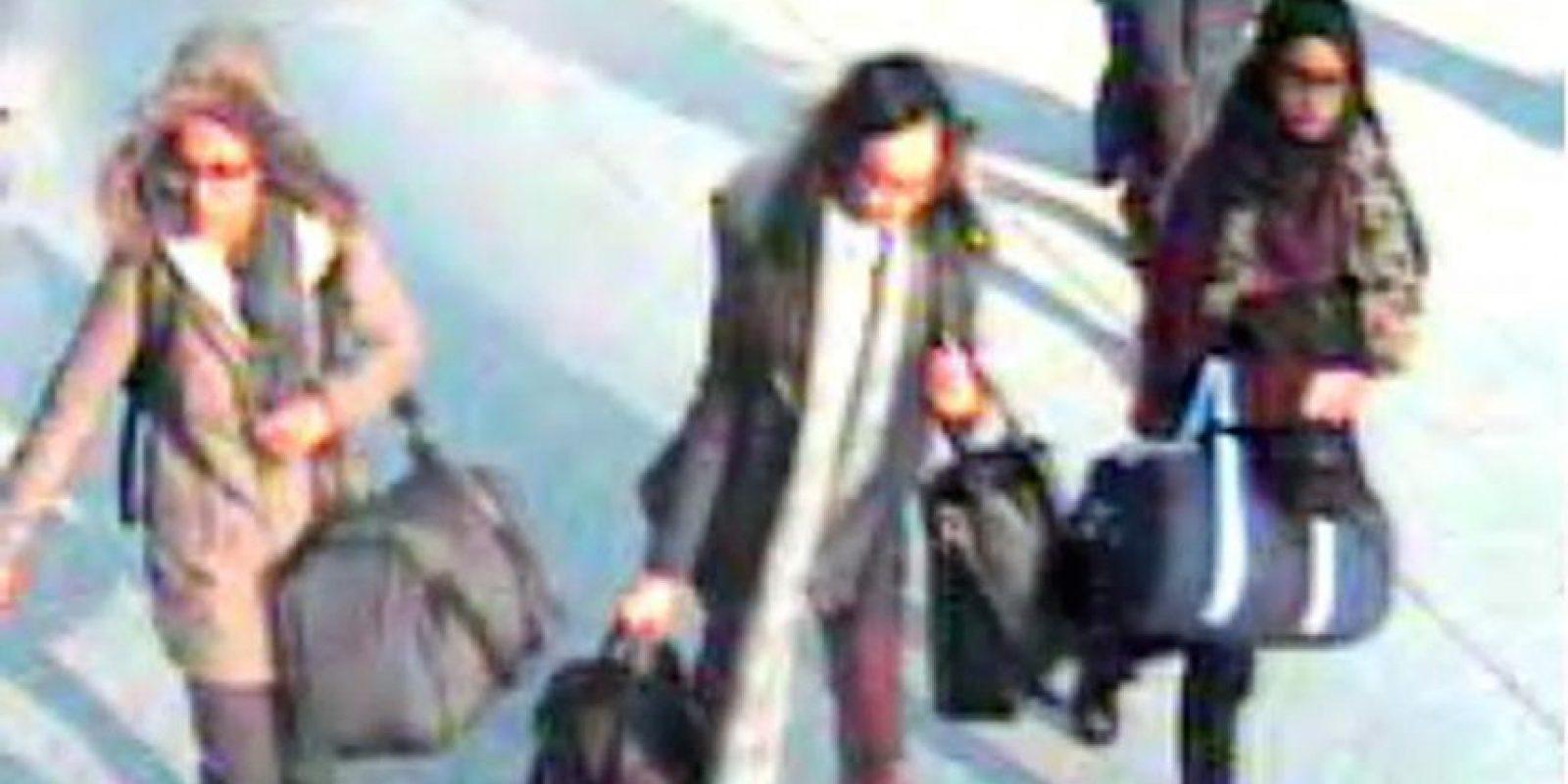 10. Actualmente buscan a tres jóvenes británicas que se presume huyeron para unirse al Estado Islámico. Foto:AP