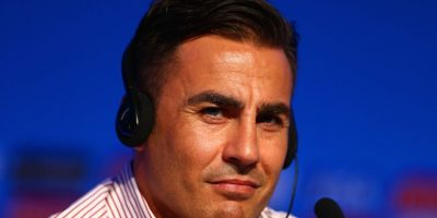 Fabio Cannavaro es el actual entrenador del Guangzhou Evergrande chino. Foto: Getty Images