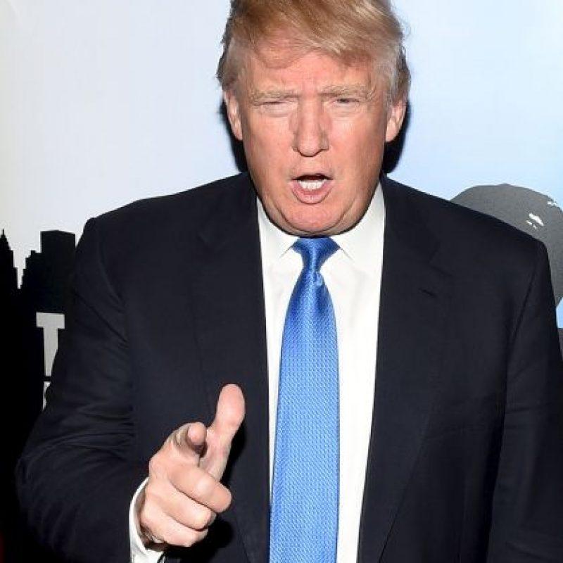 """""""Muchas personas están enojadas con mis comentarios sobre México, pero hay que enfrentarlo, México nos está robando a Estados Unidos. Nuestros políticos son idiotas"""" Foto:Getty Images"""
