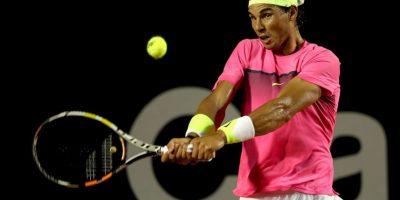 En el partido de semifinal del Abierto de Río de Janeiro Foto:Getty
