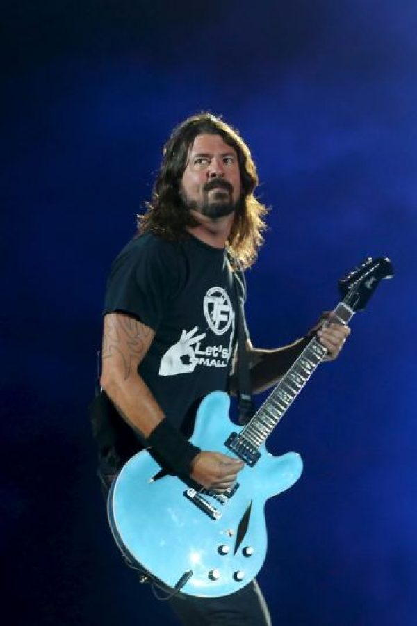 Mejor grupo internacional – Foo fighters Foto: Getty Images