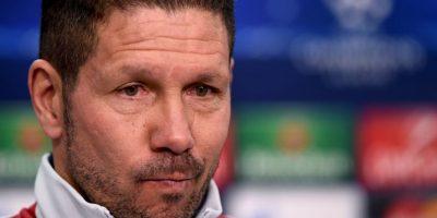 Diego Simeone quiere hacer más grande su nombre en el Atlético de Madrid Foto:Getty