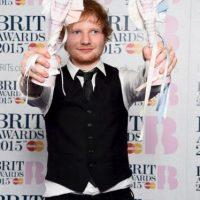 Mejor intérprete masculino británico – Ed Sheeran Foto:Getty Images