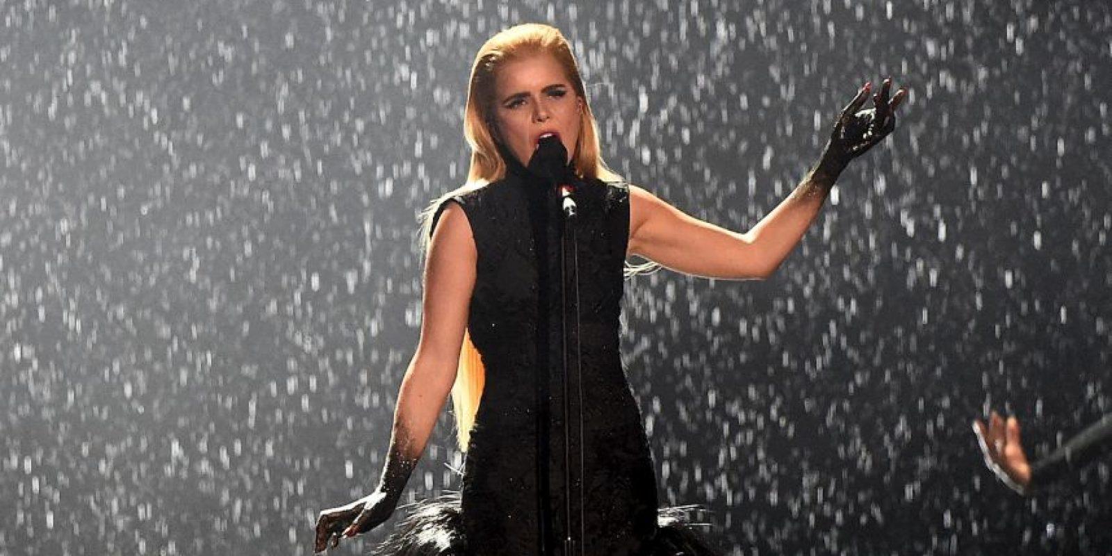 Mejor intérprete femenina británica – Paloma Faith Foto:Getty Images