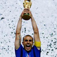 En 2006 levantó la Copa del Mundo como capitán de la Selección italiana. Foto:Getty Images