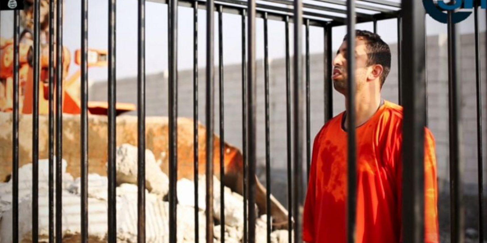 Fue quemado vivo por miembros de ISIS. Foto:AP