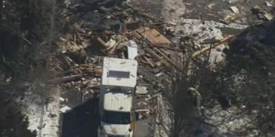 VIDEO. Cámara capta cuando una casa explota en Nueva Jersey