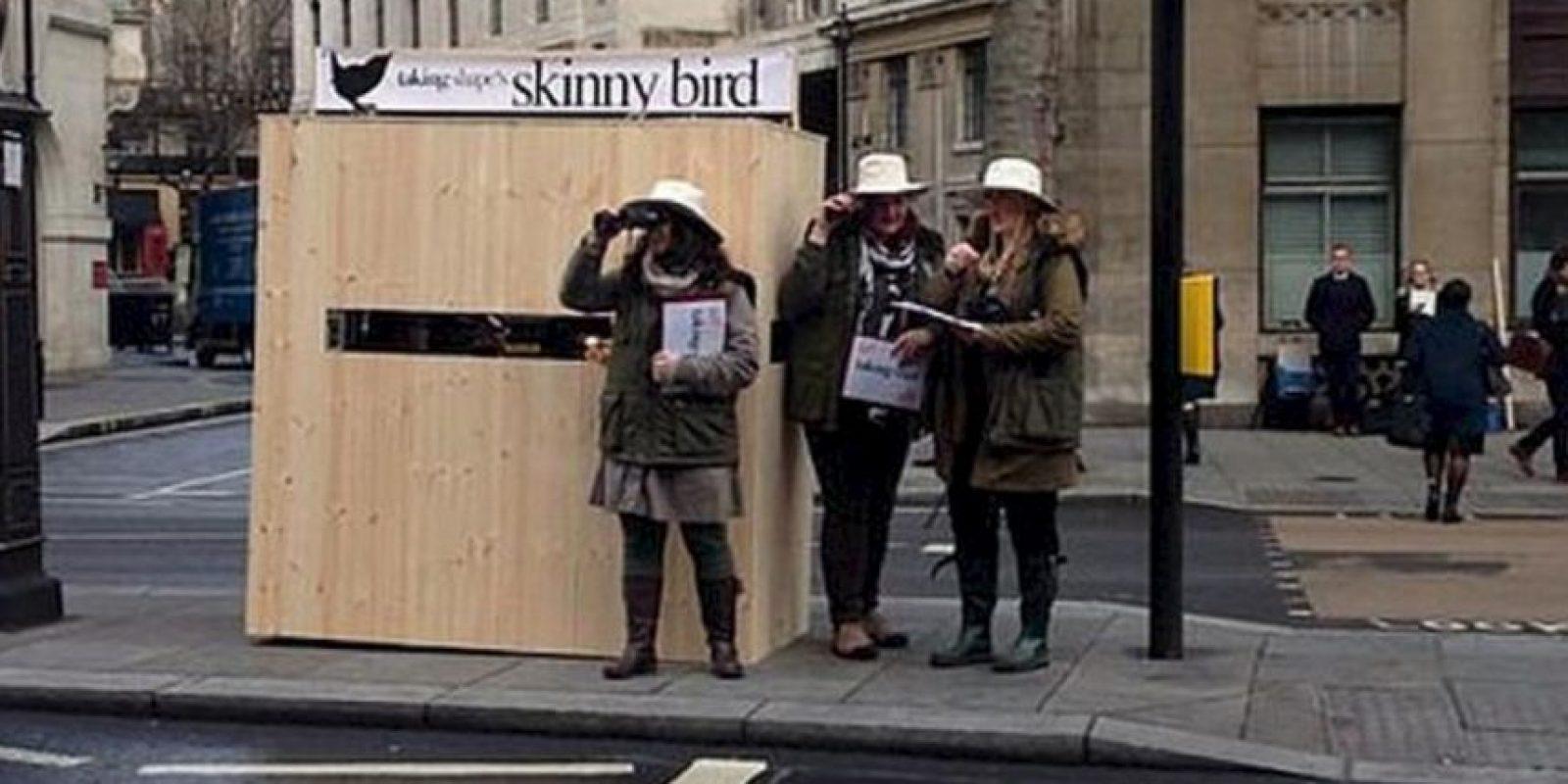 Skinny Birds era una campaña que trataba de hacerse viral. Foto:Twitter