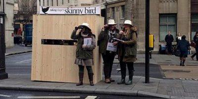 """FOTOS: Esta campaña de moda quería """"discriminar"""" a las flacas"""