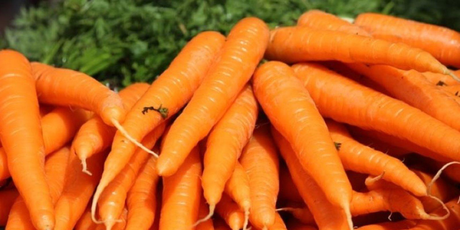 2. Zanahorias Foto:Pixabay
