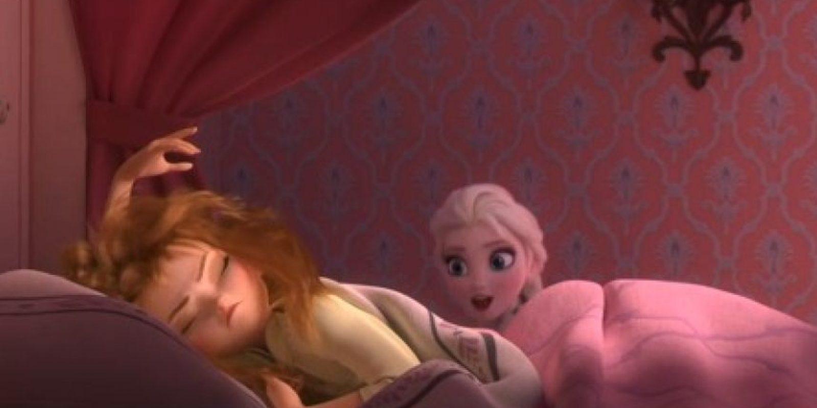 """""""Anna"""" tiene 18 años, mientras que """"Elsa"""" y """"Kristoff"""" tienen 21 Foto: Disney"""
