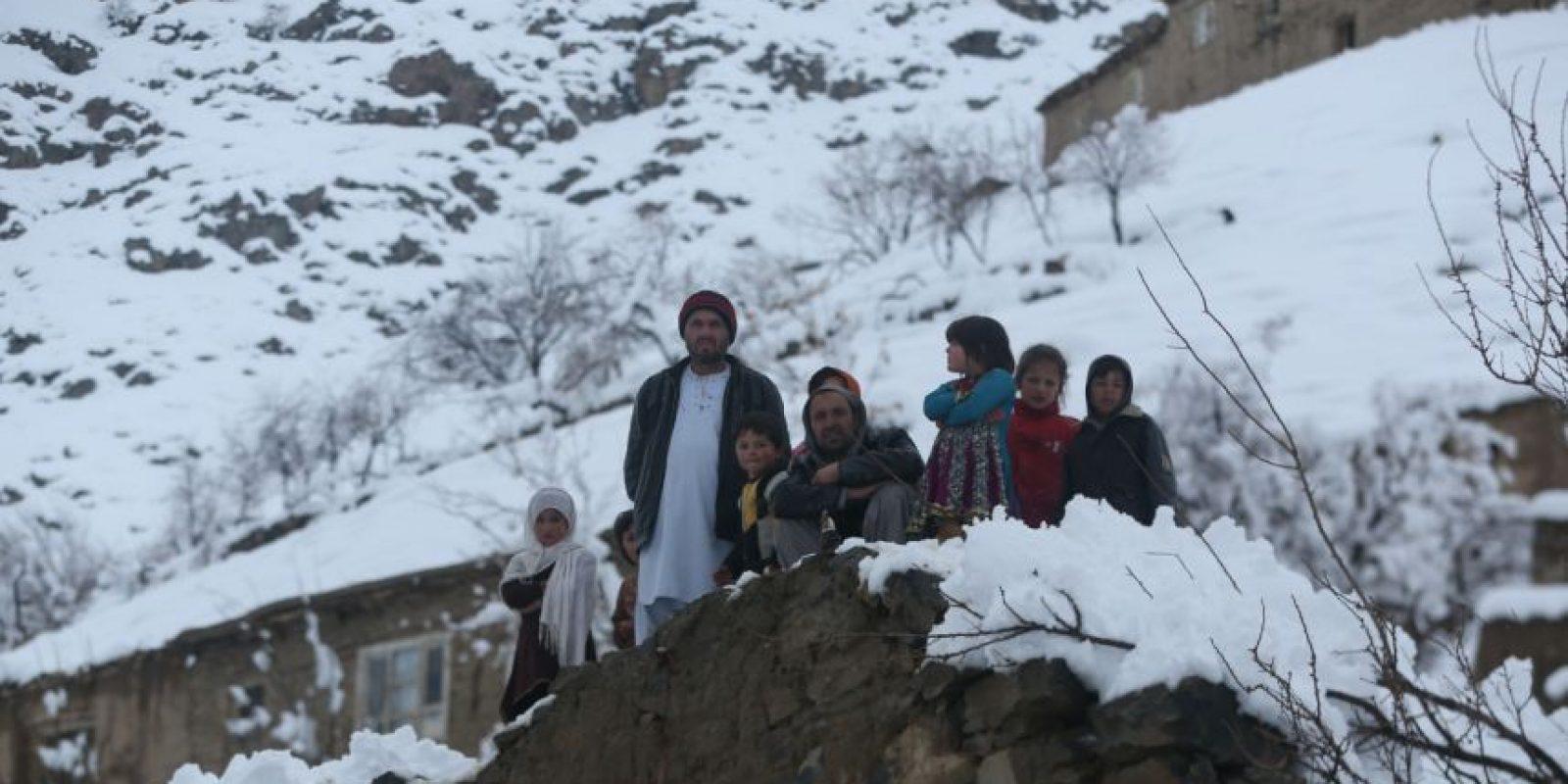 Afganistán, otro de los países golpeados por el frío. Foto:AP