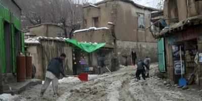 Muchas casas quedaron destruidas por el mal clima. Foto:AP
