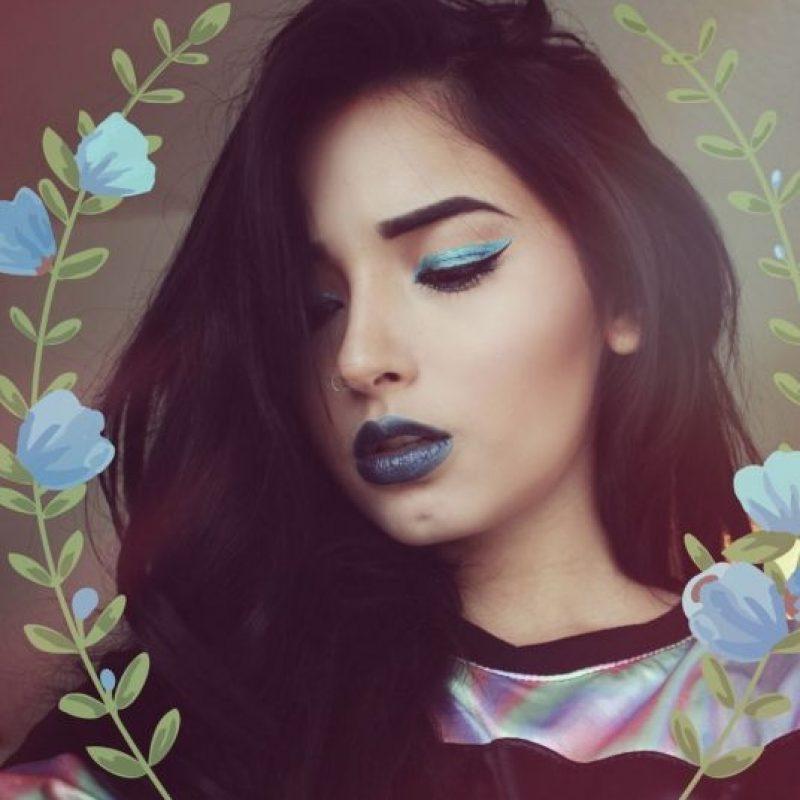 Tiene más de 260 mil seguidores en su canal de Youtube y 107 mil en Instagram Foto:Laura Sánchez Makeup/Twitter