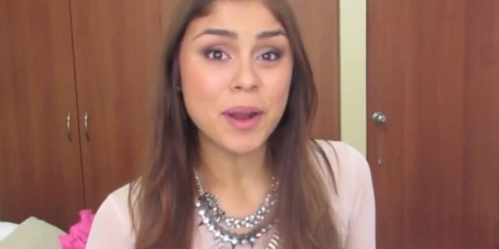 """Paula Galindo tiene 20 años, es colombiana y es la famosa """"Pautips"""" en Youtube. Foto:Youtube/Pautips"""
