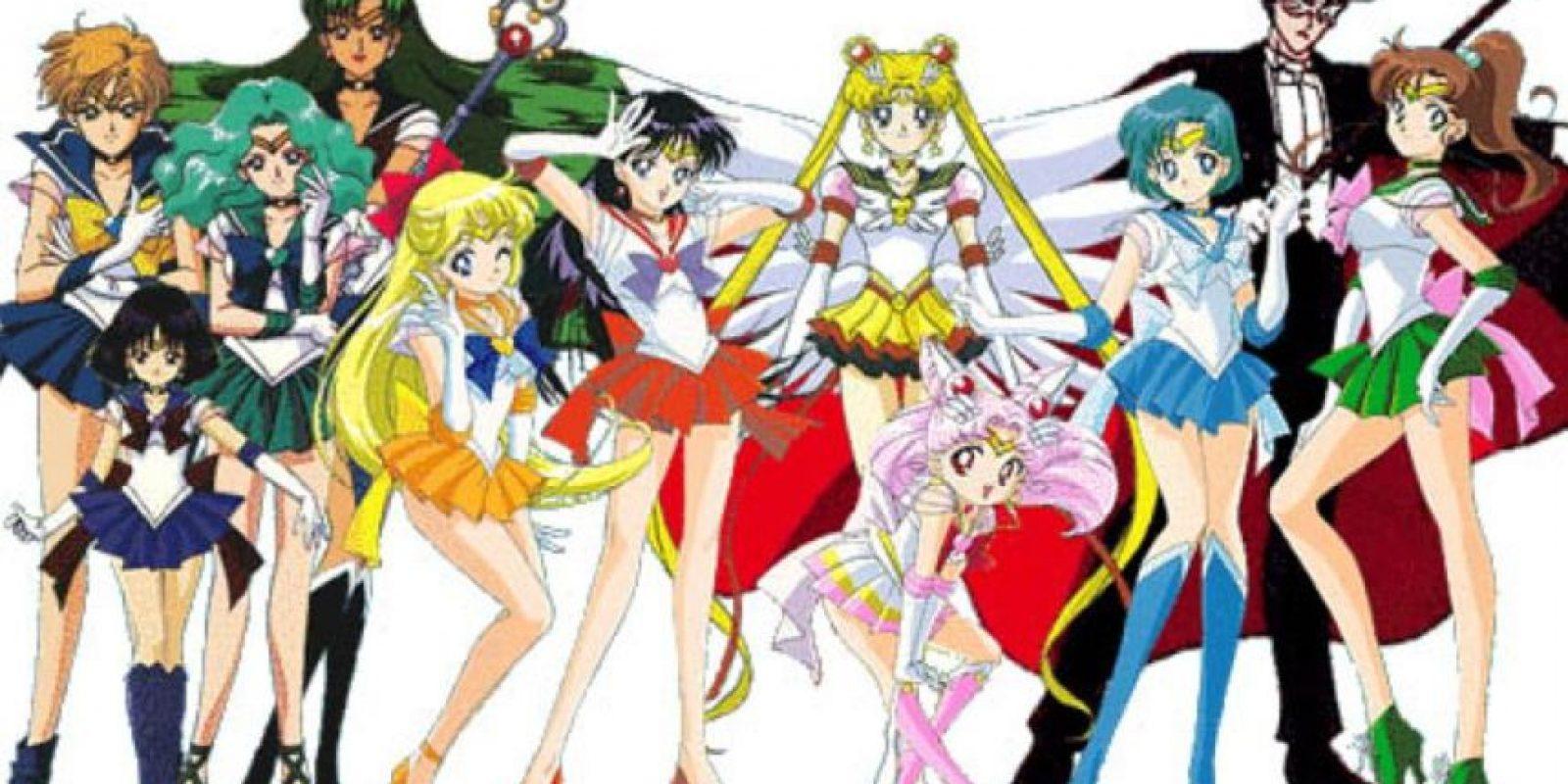 7. Personajes geniales: ¿cómo olvidar a los villanos del Reino de Cristal, las Sailor Stars o las Sailors del sistema externo? Todas complejas, misteriosas y creíbles. Foto:Toei