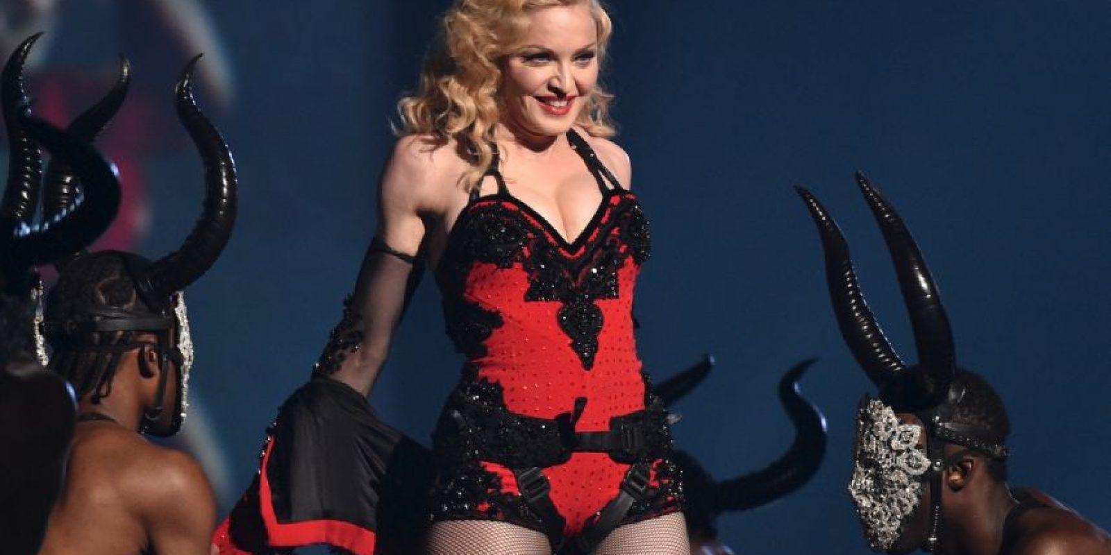 Así fue el show de Madonna en los Brit Awards Foto:AP