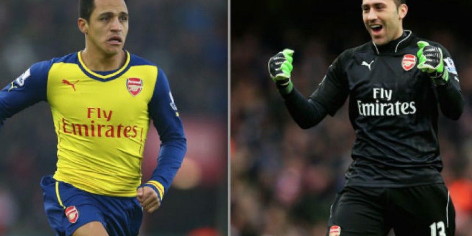 El poder latino estará presente en el Arsenal vs. Mónaco. Foto:Getty Images