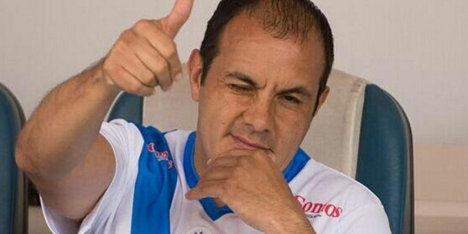 """Con 42 años, el """"Cuau"""" está registrado en las filas del Puebla, aunque ha decidido competir por un puesto de gobierno Foto:Getty"""