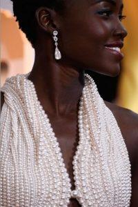 El vestido fue diseñado sobre la figura de Nyong'o Foto:Getty Images