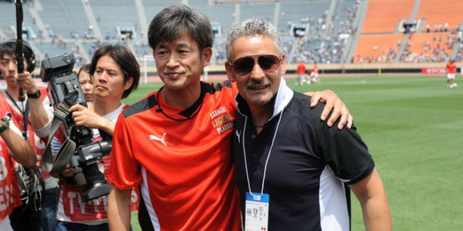 Juega en el Yokohama FC de Japón Foto:Getty