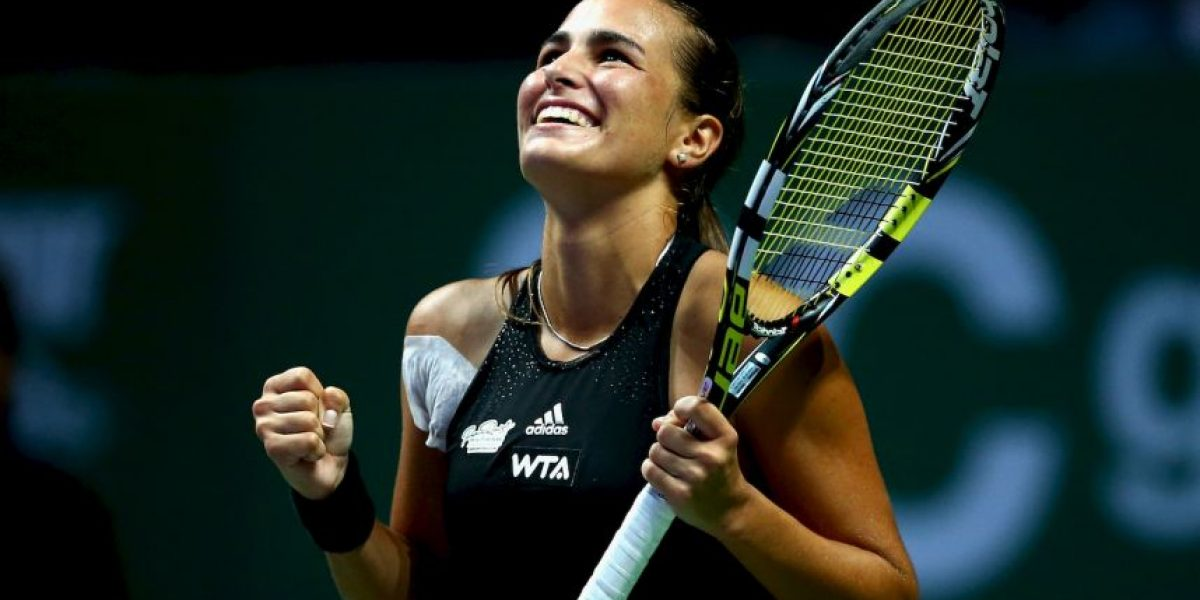 VIDEO: Tenista latina, favorita del Abierto Mexicano, por encima de Sharapova