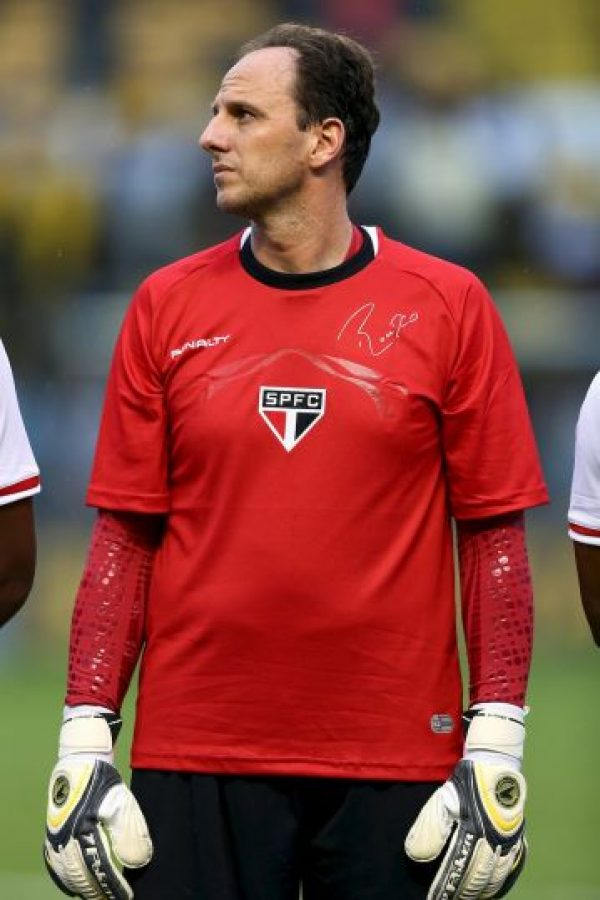 El portero goleador de Brasil tiene 42 años Foto:Getty