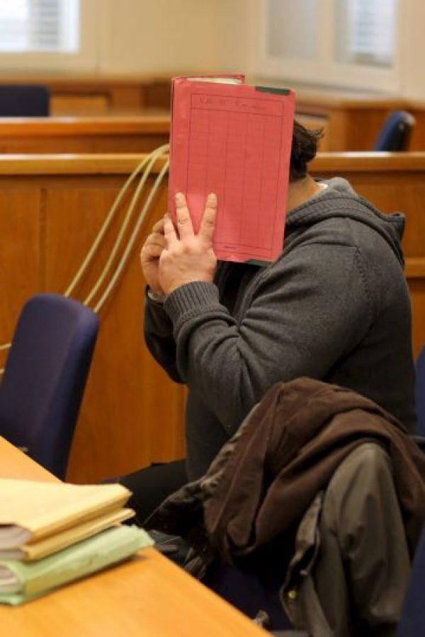 Imágenes del juicio contra Niels H, quien nunca mostró su cara Foto:Getty Images