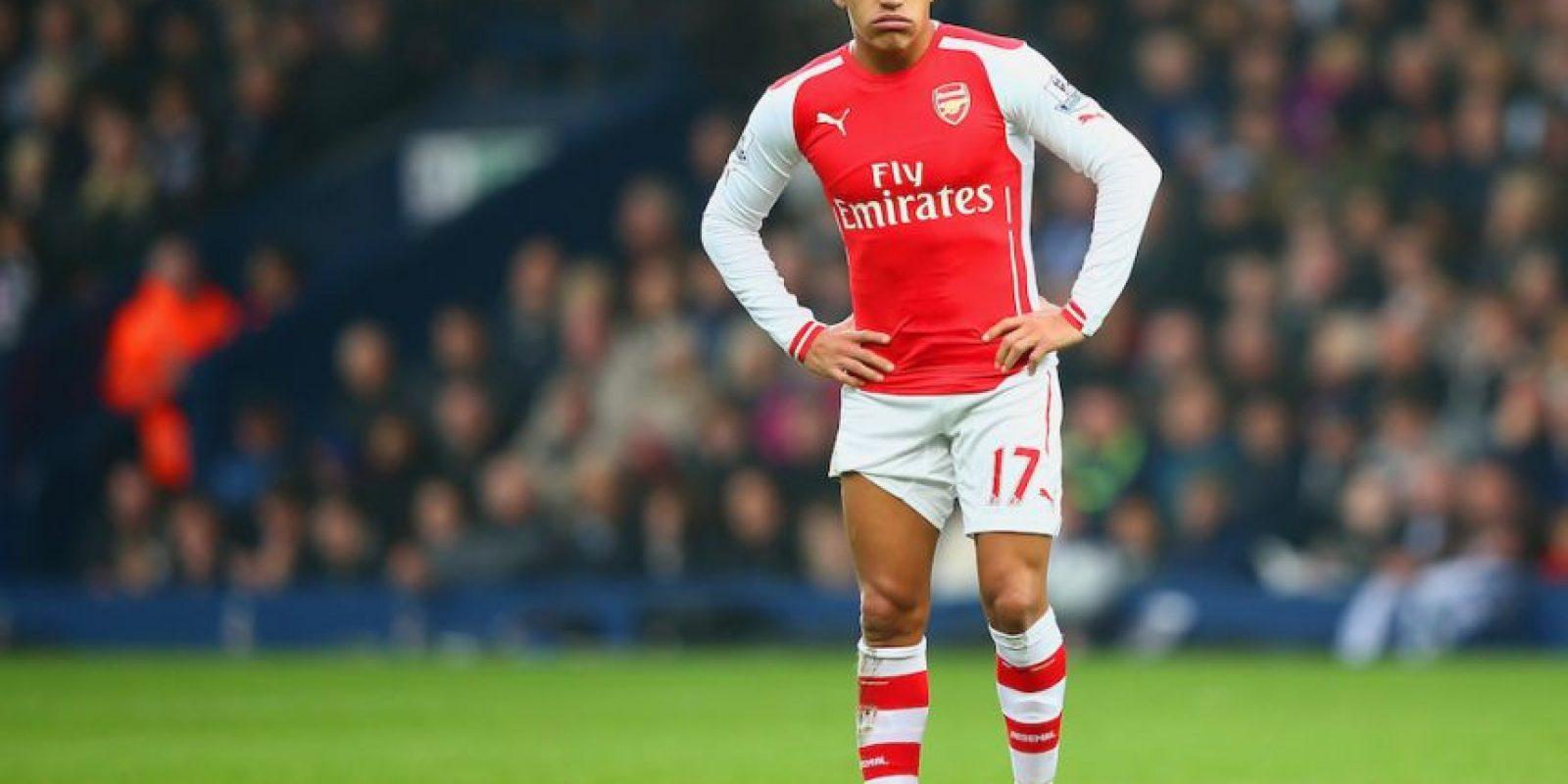 El delantero chileno Alexis Sánchez quiere ser la figura del Arsenal. Foto:Getty Images