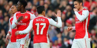 El Arsenal quiere sacar ventaja como local ante su rival francés. Foto:Getty Images