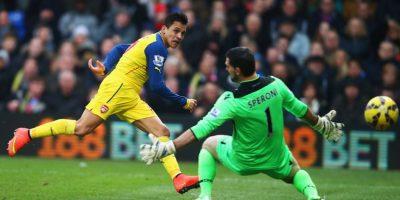 Arsenal venció 2-1 al Crystal Palace el fin de semana. Foto:Getty Images