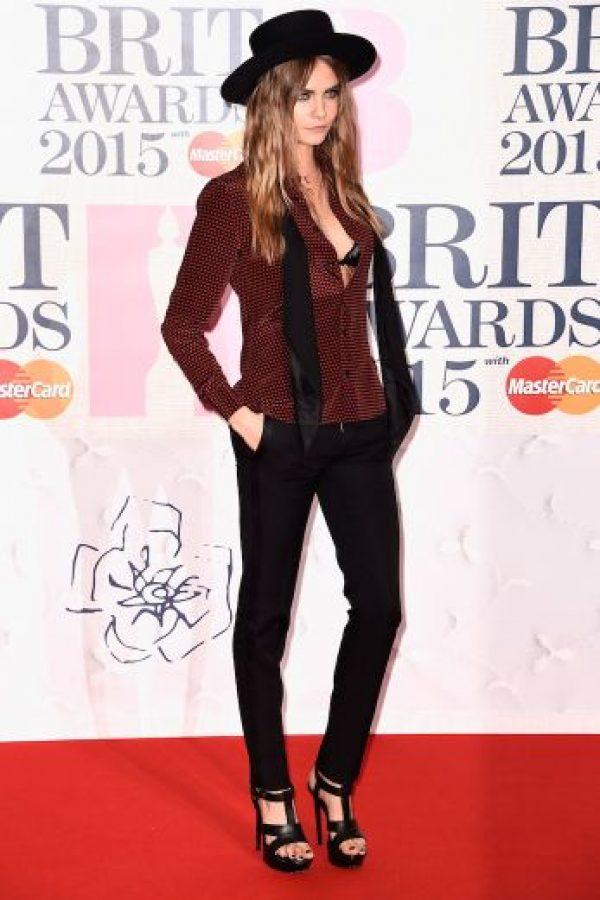 La modelo Cara Delevingne Foto:Getty Images