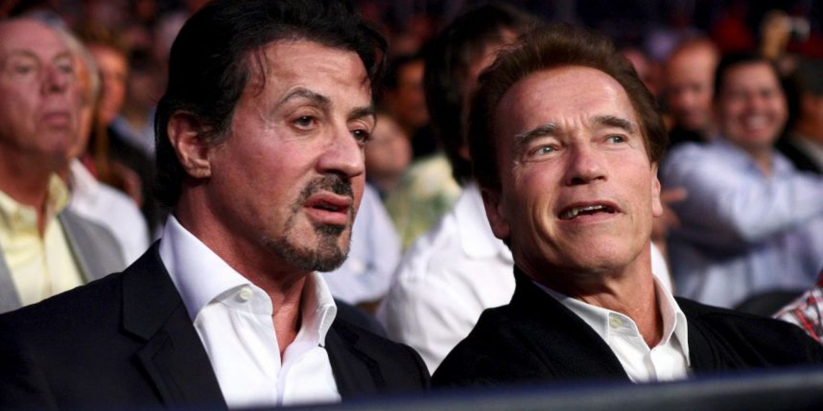 En 2009, junto a su amigote Sylvester Stallone Foto:Getty Images